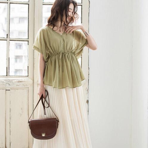 この夏は《チュニック》がかわいい♡旬のアイテムで新鮮味のある着こなしを。