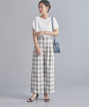 [green label relaxing] 【WORK TRIP OUTFITS】BC ドロップショルダー Vネック