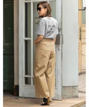 [Re:EDIT] バックメッセージロゴTシャツ