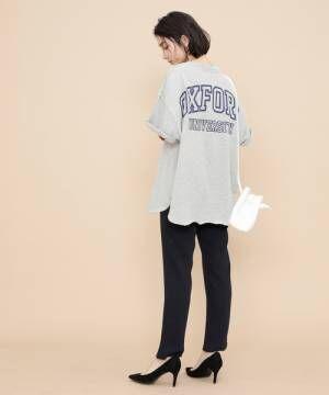 [ADAM ET ROPE'] 【WEB限定】カレッジTシャツ