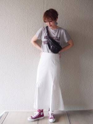 rsk970-ストライプマーメイドスカート