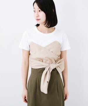 [haco!] Tシャツを女っぽく着こなせるオトナセットbyMAKORI