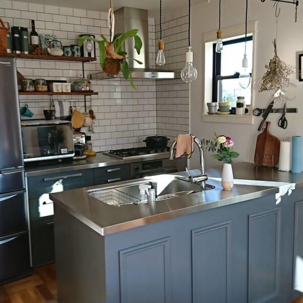 ヴィンテージ要素を取り入れることで、魅力的なキッチンに2