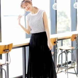 大人女性の「夏を快適に過ごせる服」♪おしゃれでストレスフリーな着こなし実例◆