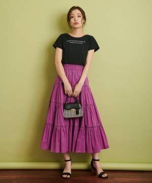 [Noela] ドロストロゴTシャツ