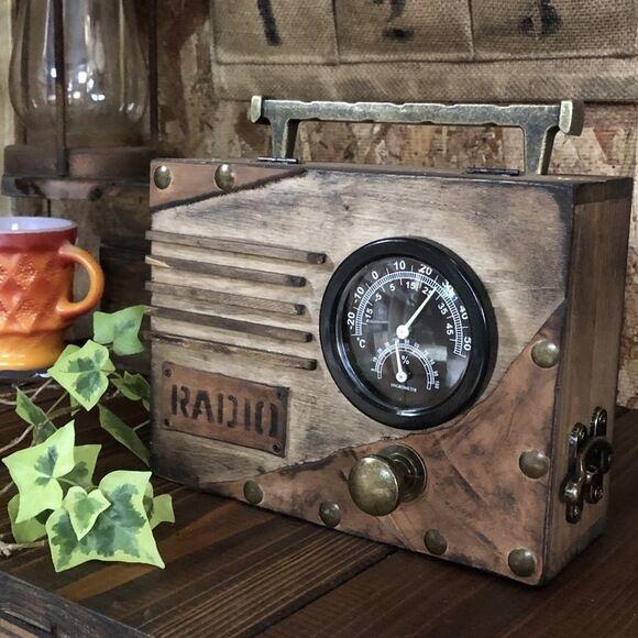 ラジオモチーフ小物入れ