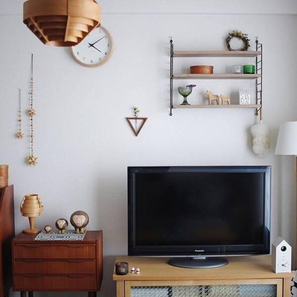 材質やデザインもさまざまな壁面シェルフ3