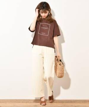 [natural couture] おしゃれカラーチノパンツ