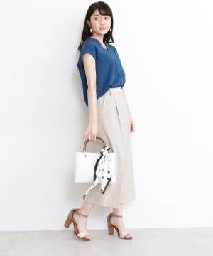 [N.(N. Natural Beauty Basic)] 【追加生産】◆ジプシーサップクロップトパンツ
