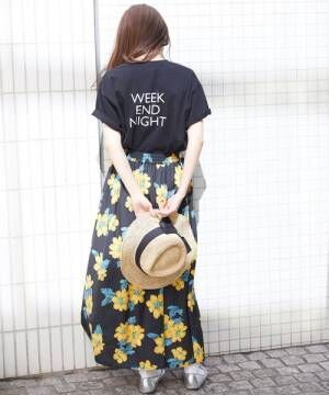 [ROPE' PICNIC] 【WEB限定】A WEEK Tシャツ2