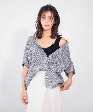 [CIAOPANIC TYPY] コットンリネンBIGシャツ