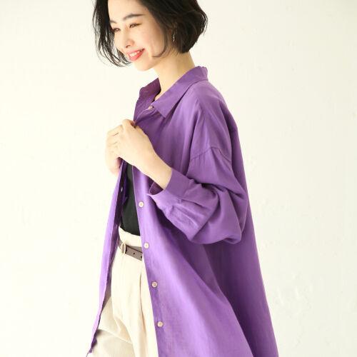 ゆるっと感が今年っぽい♡夏の羽織りにぴったりな《万能シャツ》!