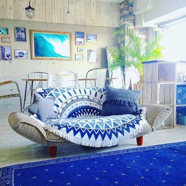 《西海岸風インテリア》で海を感じる空間づくり!リゾートライクなアイデア集