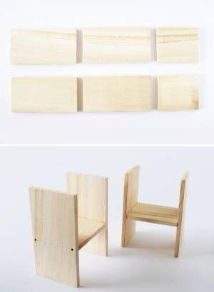 カットするだけでOK!昭和レトロな飾り棚の作り方