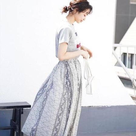 ひとめ惚れ「プリントスカート」をお迎えしたい♡ドラマチックな夏コーデ15選
