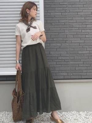 ユニクロ プチプラ スカート2