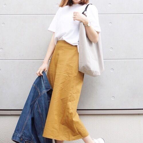 今売れてるスカートはコレ!【ユニクロ】のプチプラスカートで暑い夏を乗り切ろう♡