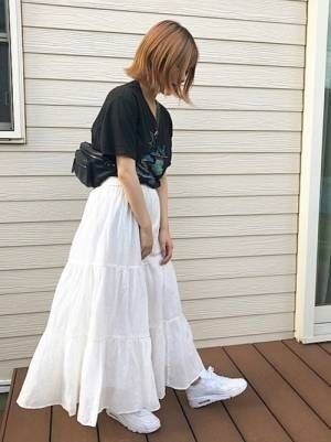 ユニクロ プチプラ スカート3