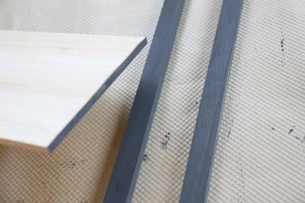 トレイ&サイドテーブル 作り方2