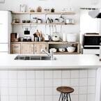 見た目もおしゃれなスペースに!キッチンカウンターのデザインアイデア特集