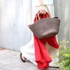 大人女子は必見♡幼くならないイマドキ「カゴバッグ」をご紹介!