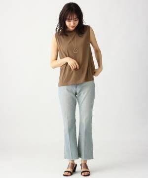 [apart by lowrys] PドライMIXノースリーブTシャツ 833638