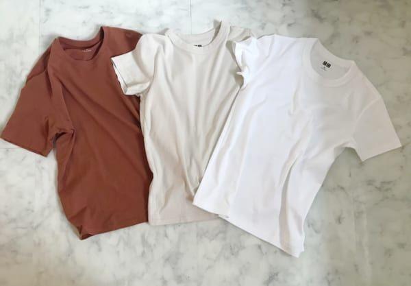 意外と悩む!シンプルなTシャツの着こなしをご紹介
