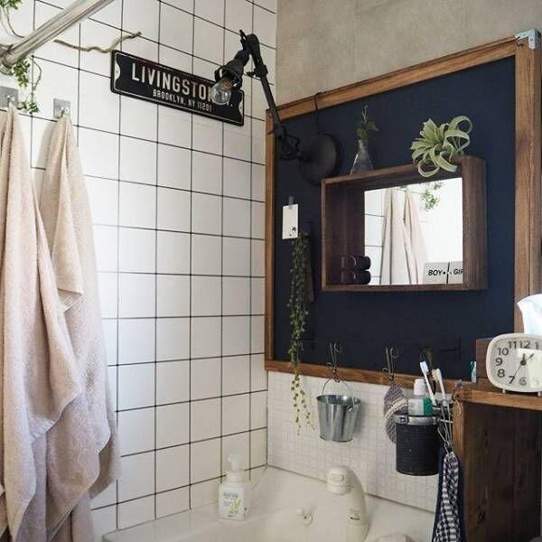 賃貸でもOKな簡単洗面台DIY6