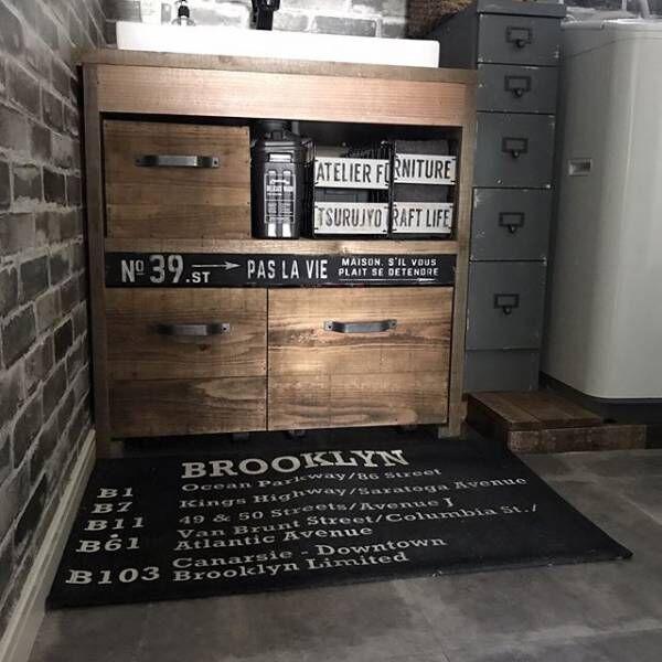 賃貸でもOKな簡単洗面台DIY12