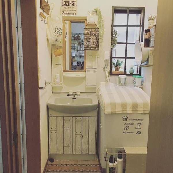 賃貸でもOKな簡単洗面台DIY16