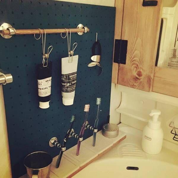 賃貸でもOKな簡単洗面台DIY4