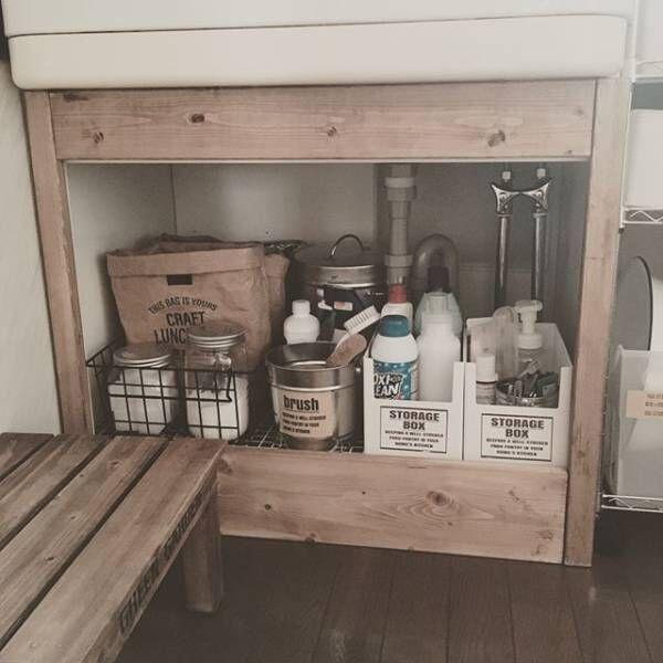 賃貸でもOKな簡単洗面台DIY11