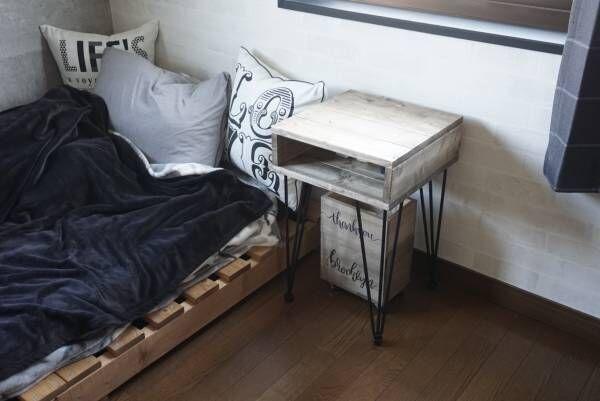 【連載】1×4材とテーブル脚で海外風ベッドサイドテーブルをDIY