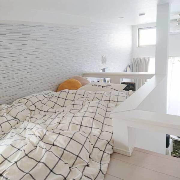 寝室 ホワイトインテリア