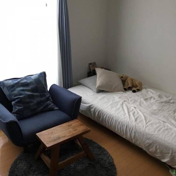 寝室 シンプルモダンインテリア