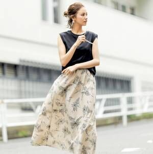 大人可愛い「ロング丈スカート」特集★この夏おすすめの素材やトレンド別にご紹介!