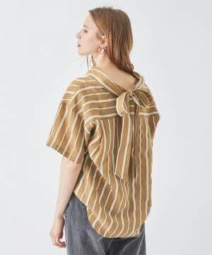 [titivate] バックリボンオーバーサイズシャツ