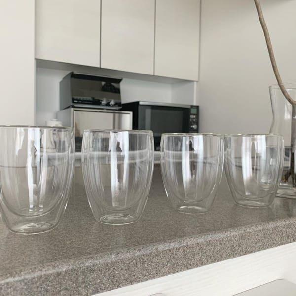 IKEA ダブルウォールグラス