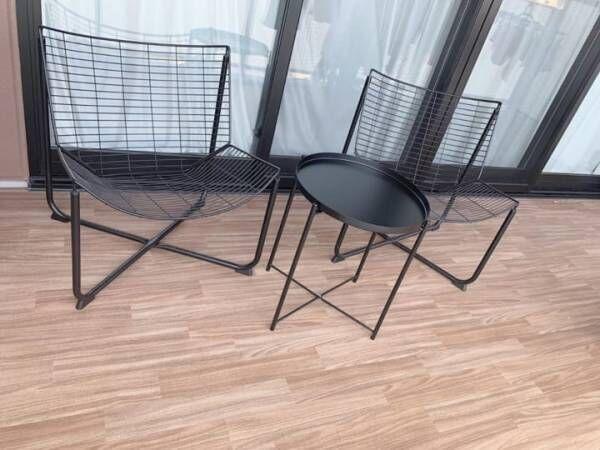 イスとテーブル【IKEA】