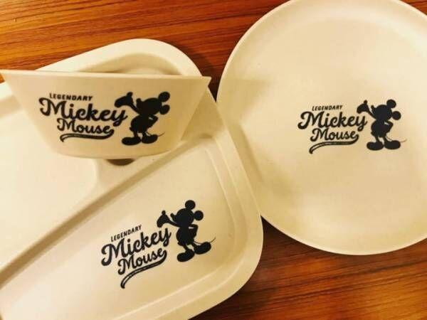 ミッキーマウスバンブー食器