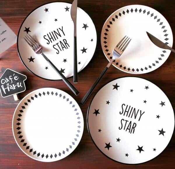 おしゃれなモノトーン食器はプチプラで!【ダイソー】のおすすめテーブルウェア8選