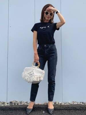 [agnes b.] S137 TSロゴTシャツ