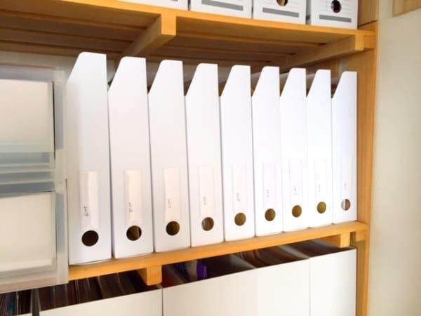 【連載】ダイソーの万能ラベルホルダー♪見た目も機能性も抜群のファイルボックス収納