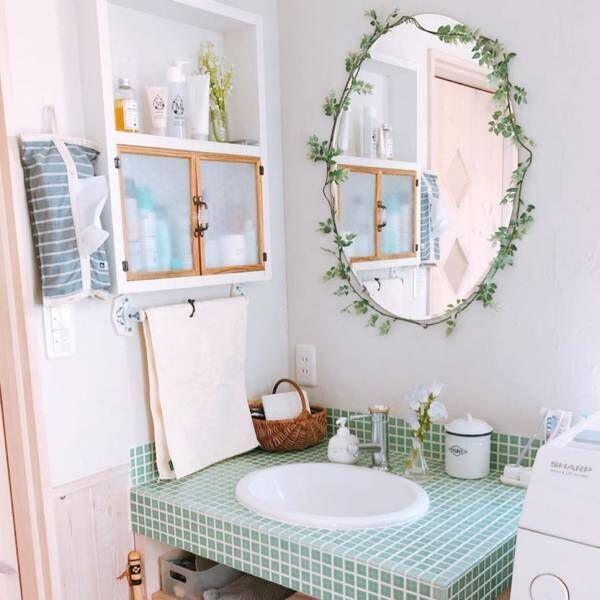 洗面所も素敵に見せたい!スタイル別に見るおしゃれな「洗面所インテリア」