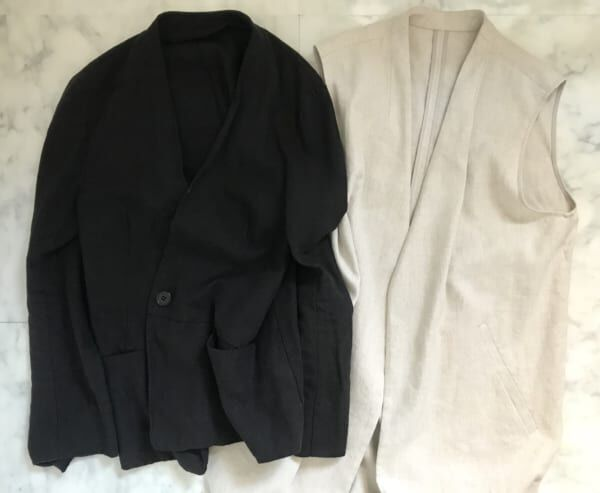 4. 夏のジャケット&ジレ