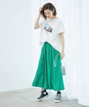 [ROPE' PICNIC] アソート柄ビッグTシャツ