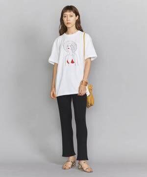 [BEAUTY&YOUTH UNITED ARROWS] 【別注】<maegamimami>GIRL ショートスリーブTシャツ