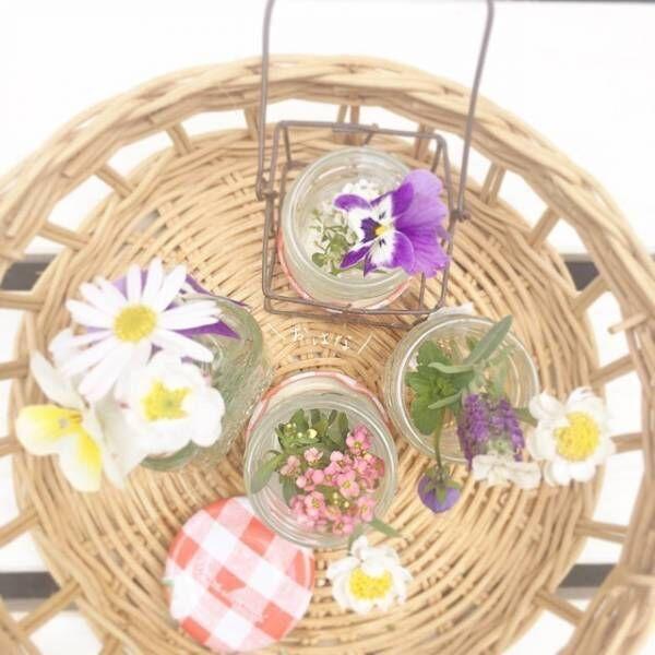 お花はどこに・どうやって飾るのがベスト?お花の飾り方テクニックをご紹介