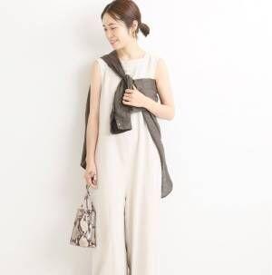 真夏はリネン素材の服が大本命♡30代女子に似合う理想の着こなし15選