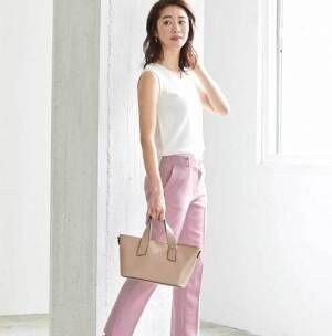 夏コーデはカラーパンツ&柄パンツに注目♡2つのパンツで存在感のあるコーデに